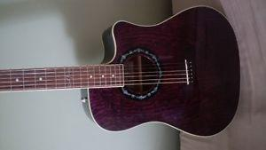 NEW CONDITION FENDER T BUCKET 300 CE CUTAWAY DREADNOUGHT