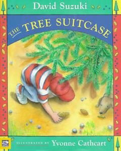 "NEW Hardcover BOOK: ""The Tree Suitcase"" by David Suzuki"
