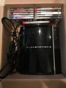 PS3 40Gb with 11 games
