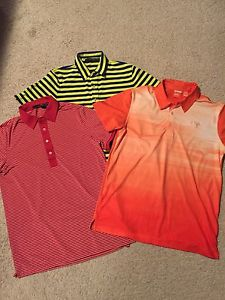 RLX and Puma golf shirts. Sz medium.