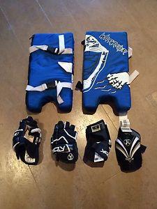 Sydney Crosby RBK Kids hockey gear!