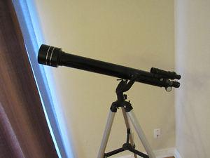 Telescope with all the eye pieces and users manual