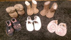 Toddler Girls Shoes (sizes 3-5)