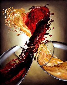 Un cours de peinture, vin, copines et bien du plaisir!