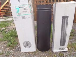 """Various 7"""" pipe for woodstove"""