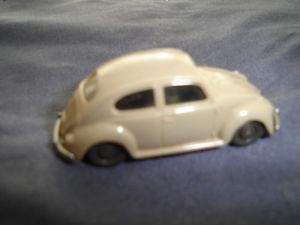 Vintage Wiking German made Plastic VW Beetle