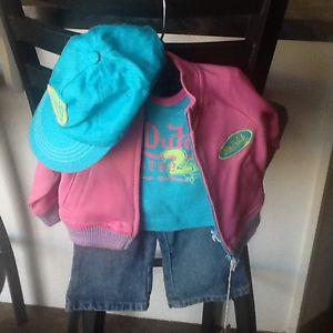 Von Dutch 4pc Set / 6-9m / BNWT