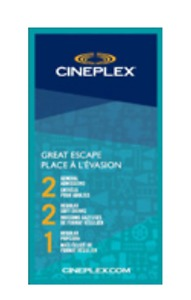 Wanted: Looking for Cineplex Movie Tickets