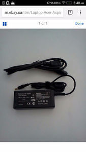 Wanted: Want to buy a Acer Aspire Laptop Charger