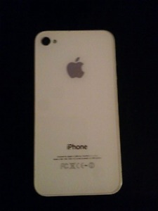 White iPhone 4S for sale