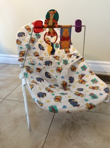 Winnie the Pooh baby bouncy seat