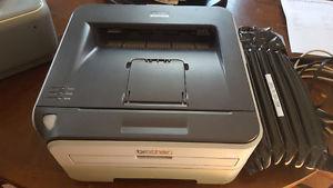 Wireless B&W laser printer + new toner cartrige