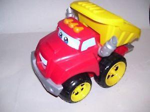tonka,chuck trucks (talking toy) tractors, blocks larger