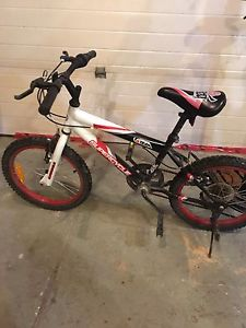 "18"" mountain bike. Boys. 7 to 9 year old size"