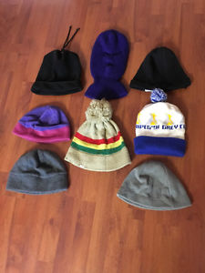 8 Toques to choose from