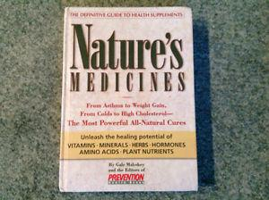 BOOK....NATURE's MEDICINES....700pages