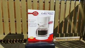BRAND NEW BETTY CROCKER COFFEE MAKER