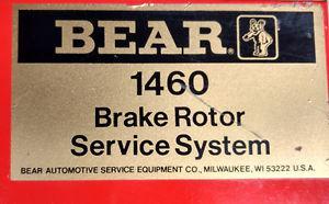 Brake Rotor Deglazer