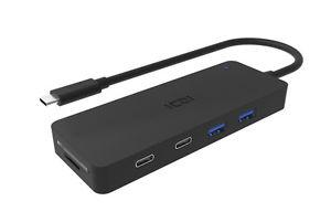 Brand new USB C to 4-Port USB 3.0 Hub with Card Reader