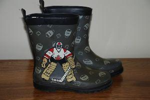 """Goalie"" rain boots Child Size 11"
