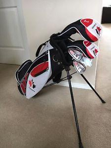Golf Canada Left Handed Junior Set