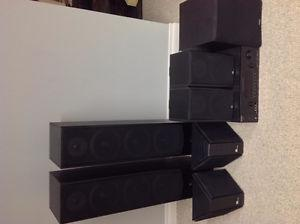 High Quality Speakers, Amp, and Sub