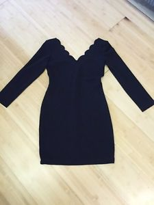 Joseph Ribkoff large black dress