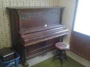 Kroeger upright piano