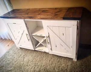 Locally Made Farmhouse Bar (sold. Can be ordered)