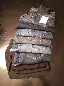 Maternity Jeans and more - some with tags on!