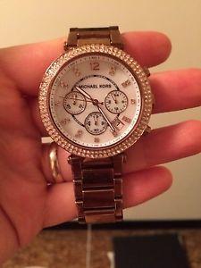Micheal Kors Rose Gold watch