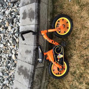 Moving sale - toddler Tiger pedal bike, motor bike &