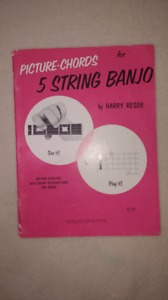 Picture Chords for the 5 string Banjo