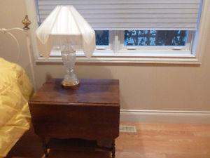 Small Drop Leaf Occasional Table