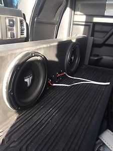 Subs and box for F150
