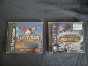 Tony Hawk Games Playstation / PS2 / GameCube / Xbox