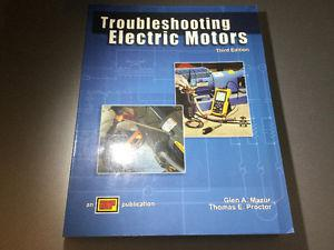Troubleshooting Electric Motors by Glen A. Mazur  Third
