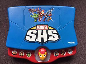 Vtech Marvel Super Hero Squad Learning Laptop