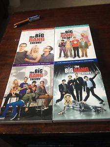 Wanted: Big Bang theory complete 1,2,3 and 4 season