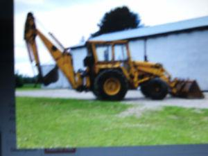 Wanted: WANTED TO BUY A OLD BACKHOE FOR PERSONAL USE
