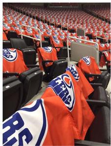 Wanted: Wanted! Fan appreciation flags Edmonton Oilers