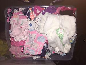 months lot of girls clothes 75+ items