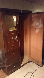 Antique Wardrobe cupboard