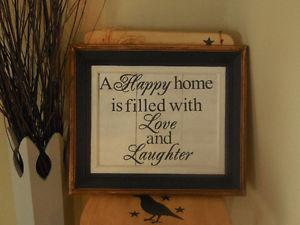 BEAUTIFUL WOODEN SIGN!