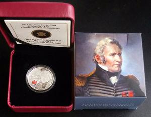 Canada Silver Coin Heroes of  Charles Michel