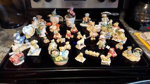 Cherished teddies, boxes, write ups