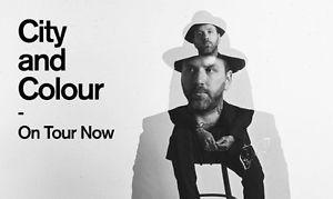 City and Colour Tickets Truro May 4