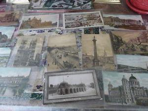 Collection Of 14 Antique Post Cards From London