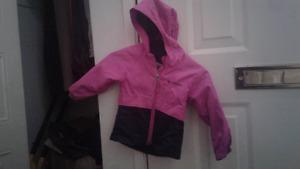 Columbia rain jacket &Ergo baby carrier