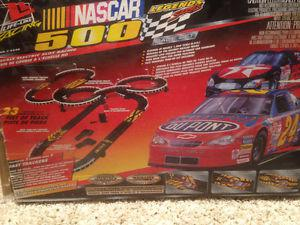 HO scale slot car electric race set